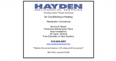 Hayden Mechanical Services
