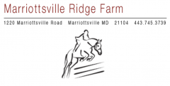 Marriottsville Ridge Farm
